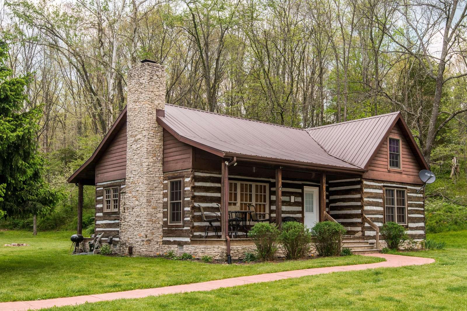 Serendipity Park Log Cabin - property