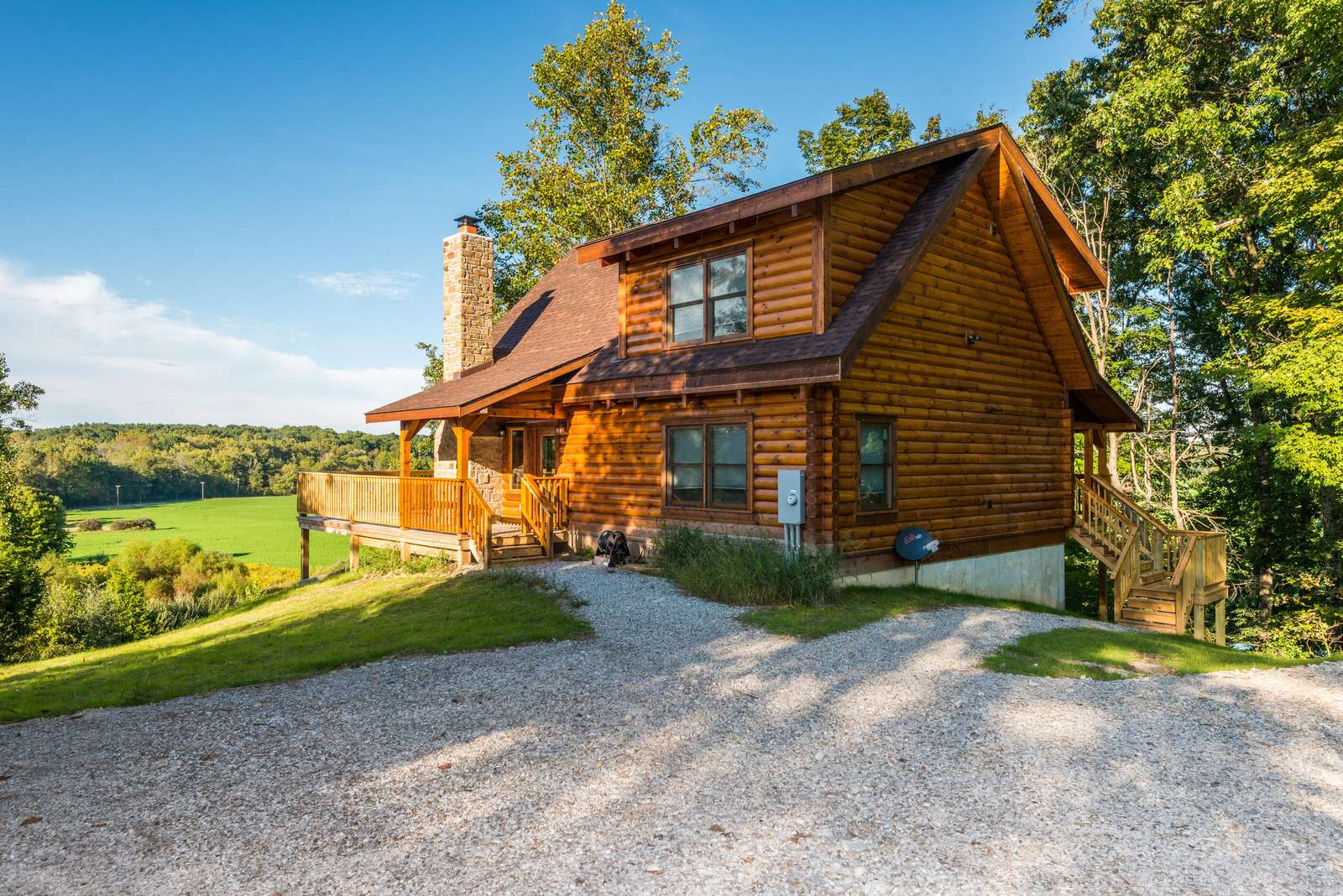 The Orchard Log Cabin - property