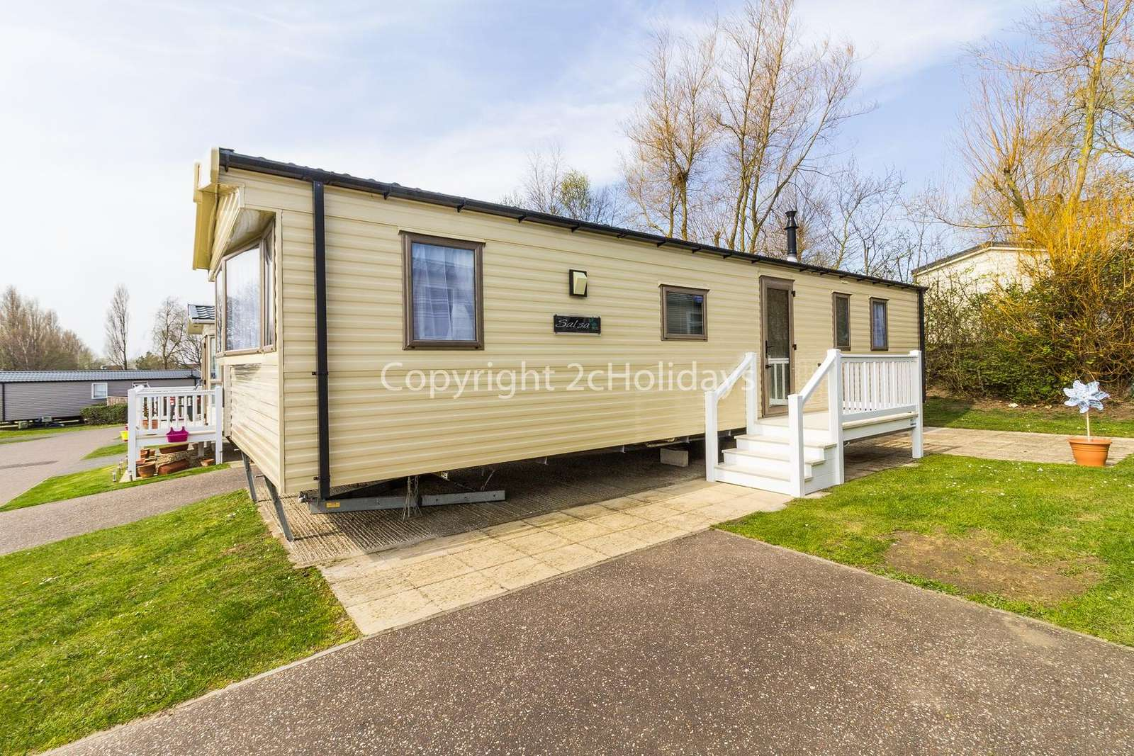 Stunning mobile home with beach access and a short drive to the seaside town of Great Yarmouth