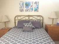 guest bedroom - queen bed thumb