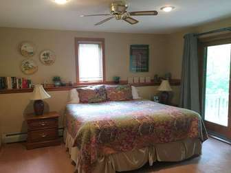 King bedroom in lower floor thumb