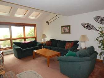Cozy furniture and incredible views of Mount Snow's slopes! thumb