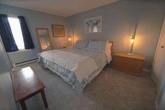 Lower floor bedroom - King bed thumb