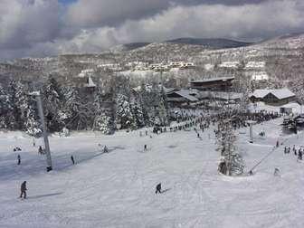 Snow Mountain Village seen from Mount Snow thumb