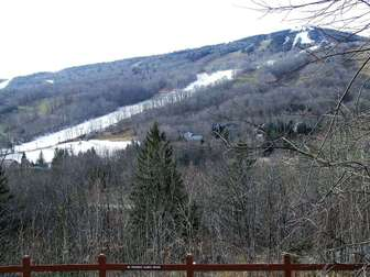 View of Mount Snow slopes thumb