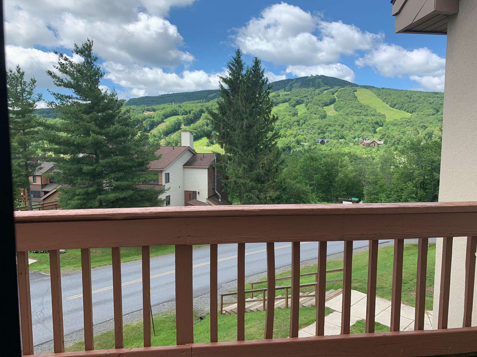 View Mount Snow from your living room! - property