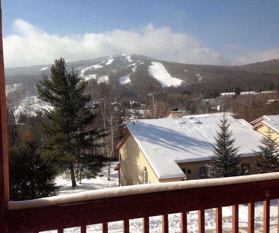 Deck View of the Slopes - property