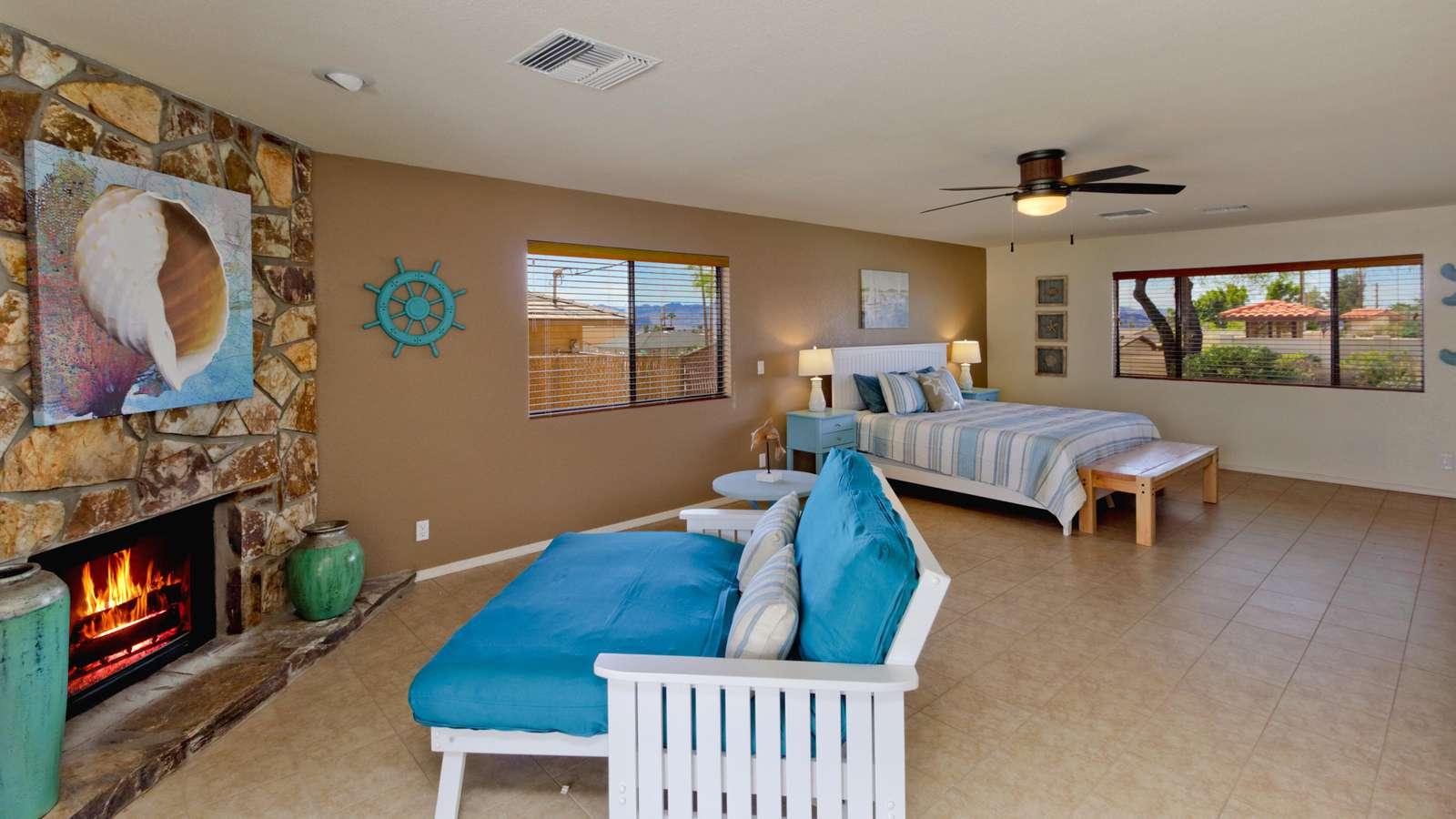 Turquoise Master Suite