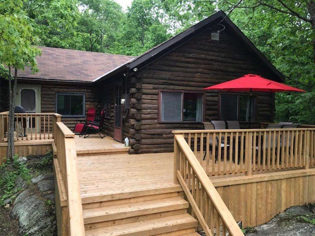 1247 Log Cabin on Skootamatta - property