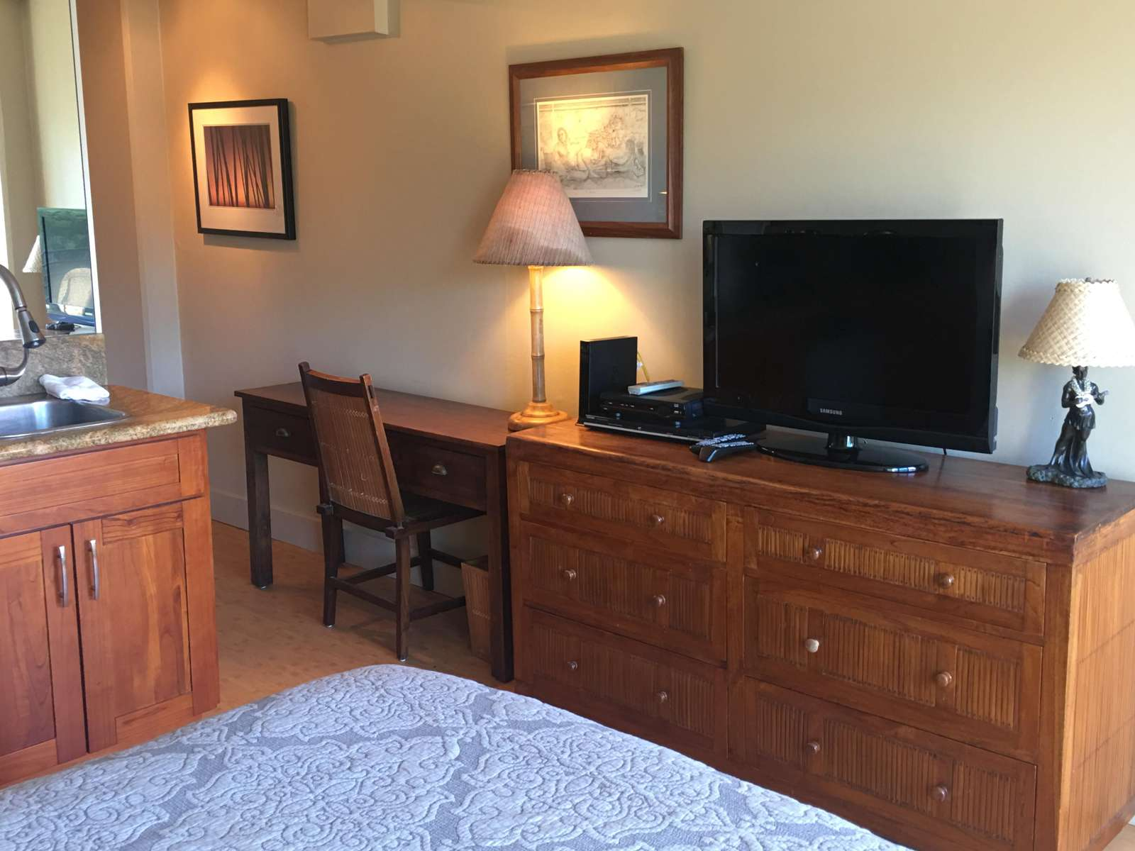 HD TV with cable included - Plus FREE WiFi