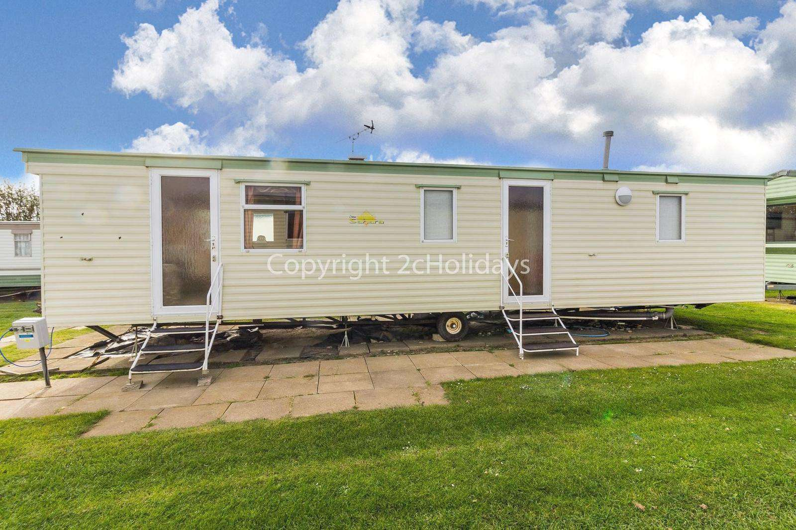 Great mobile home, only a short walk from the gorgeous Scratby beach