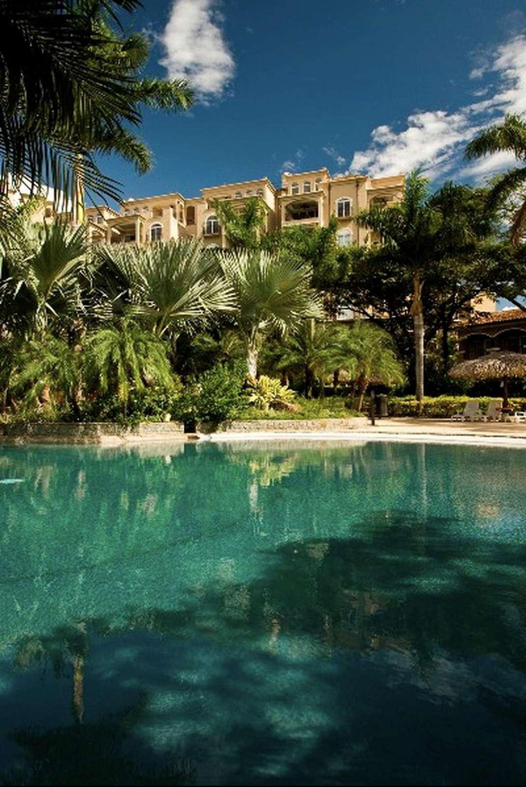 10,000 SF free form pool at the Diria resort