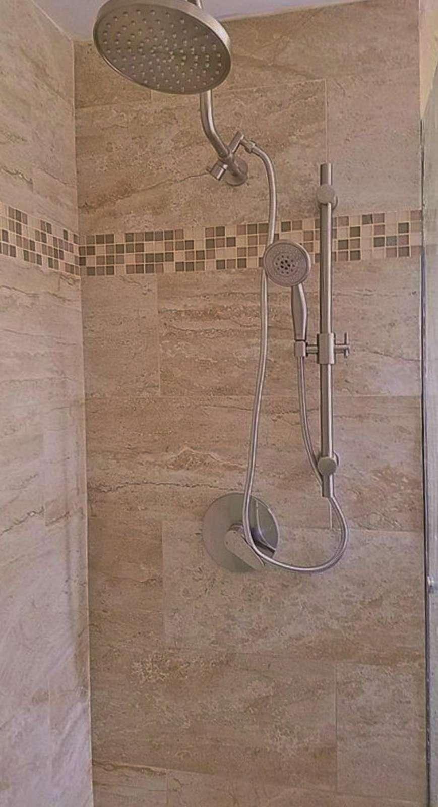 Remodeled Shower!