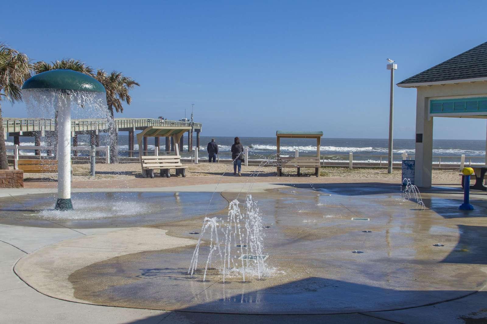 St. Augustine Beach Pier Splashpark