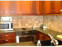 STAINLESS STEEL APPLIANCES/GRANITE COUNTER TOPS thumb