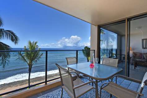 Mahana Oceanfront Resort #414