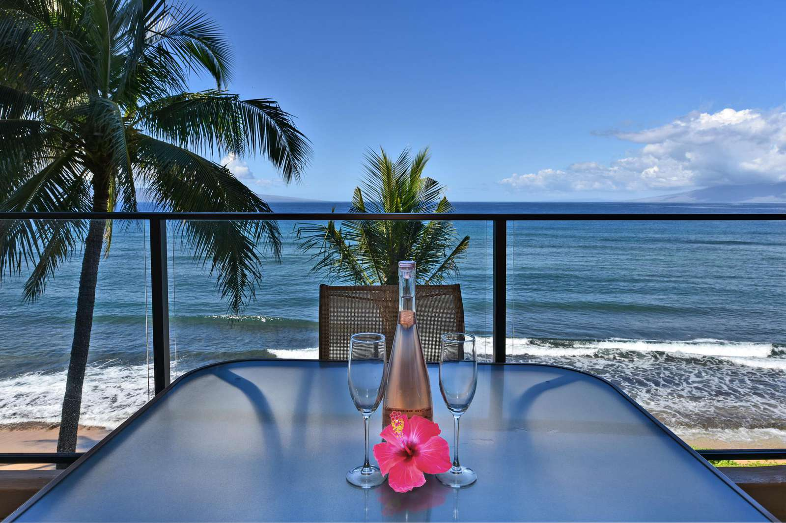 View from Lanai Table