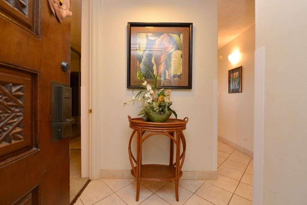 Entry into the condo