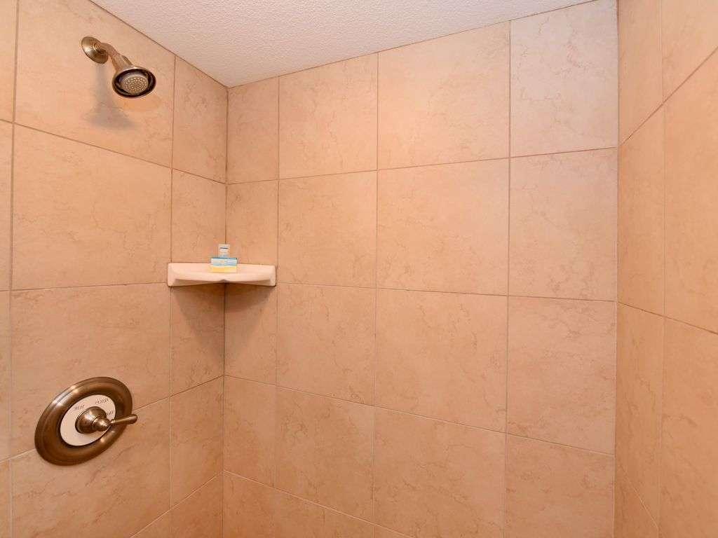 Walk -in shower in Guest Bath