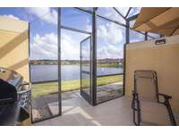 Screened patio with private pool thumb