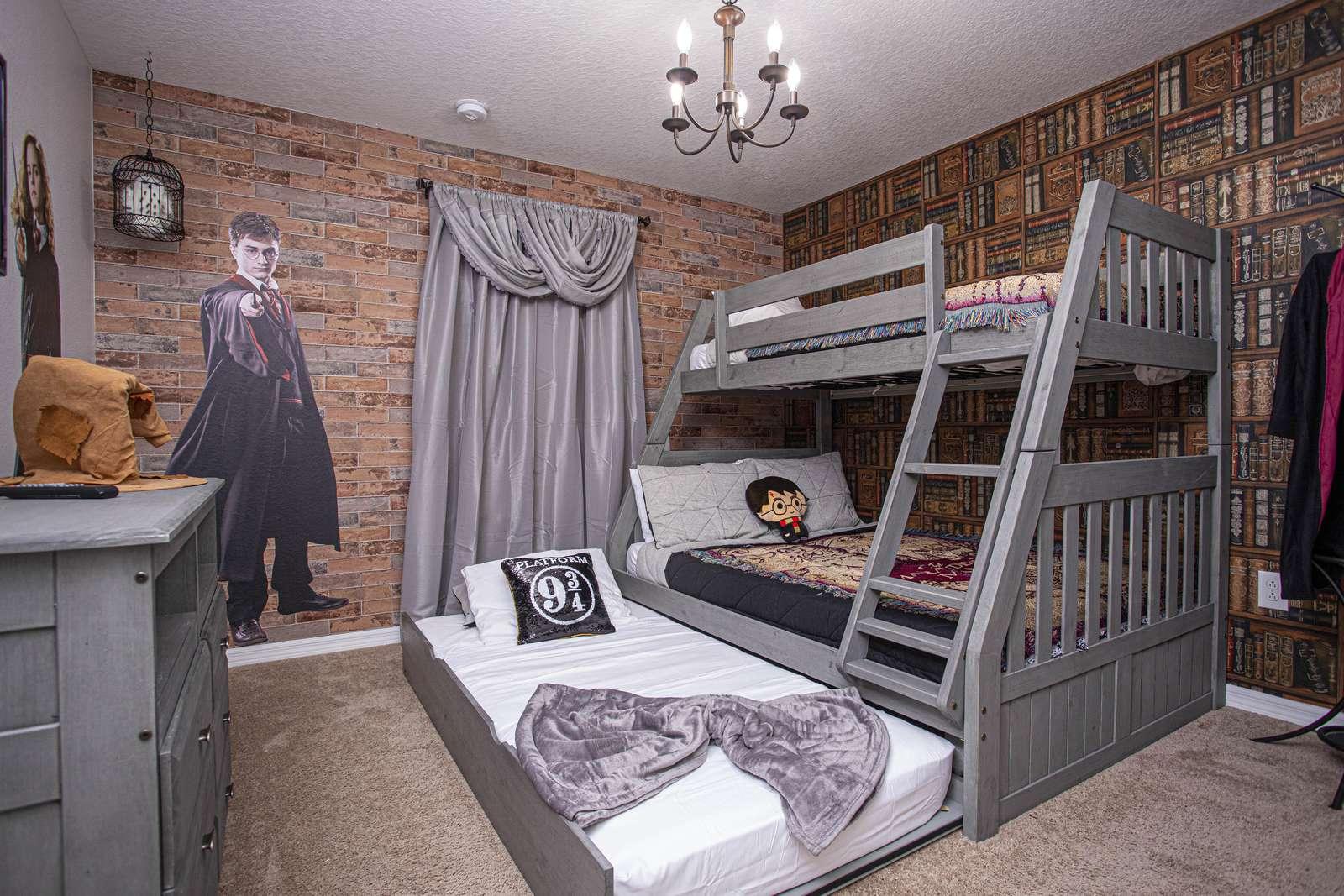 Bedroom #4 1 Bunk bed (sleeps 4) - property