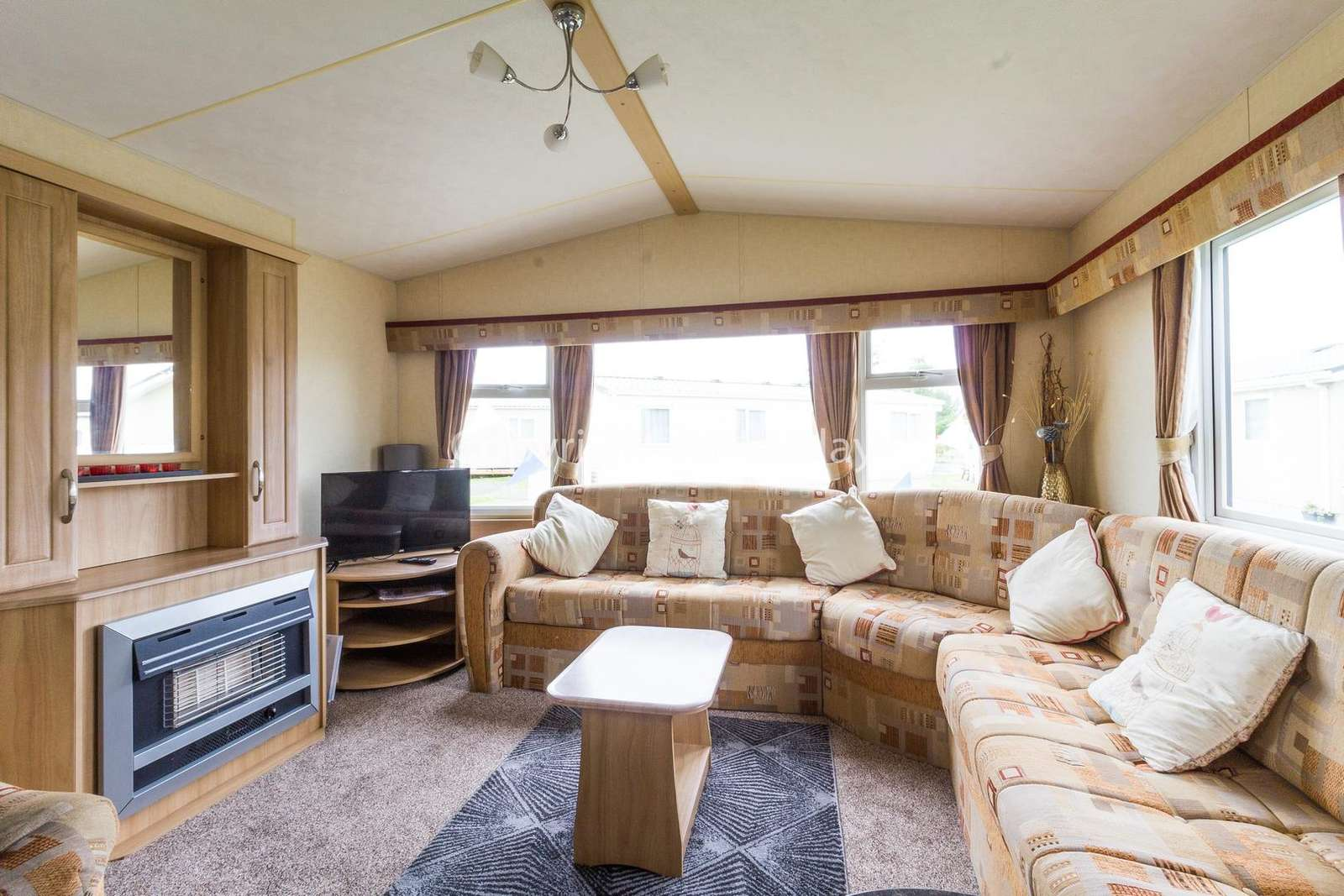 Cosy lounge with a TV and gas fire!