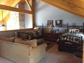 Upper level loft bedroom thumb