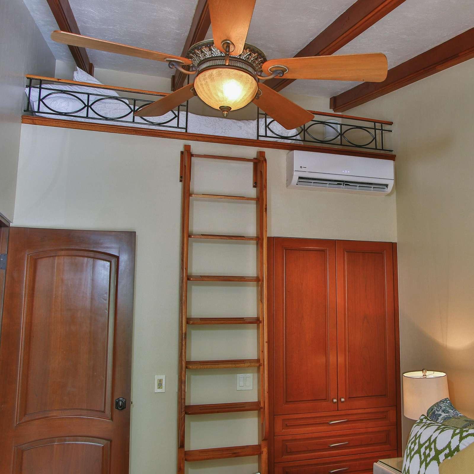 Loft area, full bed