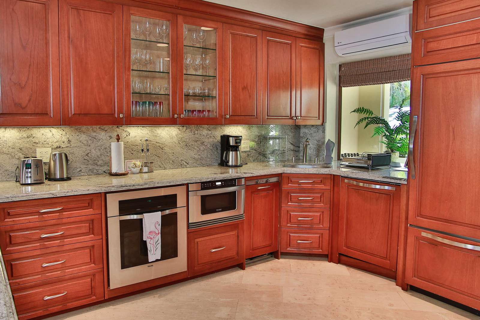 Another view of the gourmet kitchen