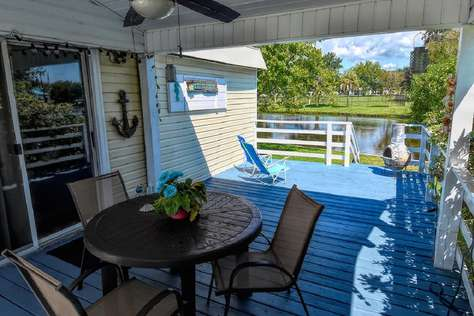 The Flamingo Oceanside Village Waterfront Cottage