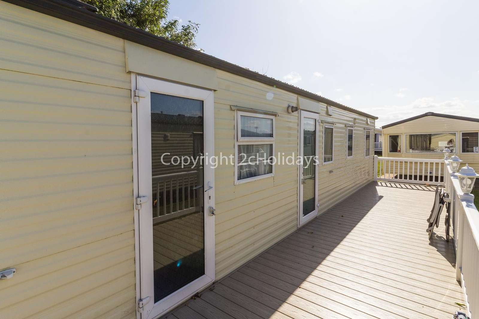 So many families enjoyed their stay at this lovely caravan at Broadland Sands Holiday Park