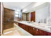 Master bathroom, dual vanityk walk in shower thumb