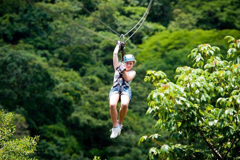 Ziplining adventures