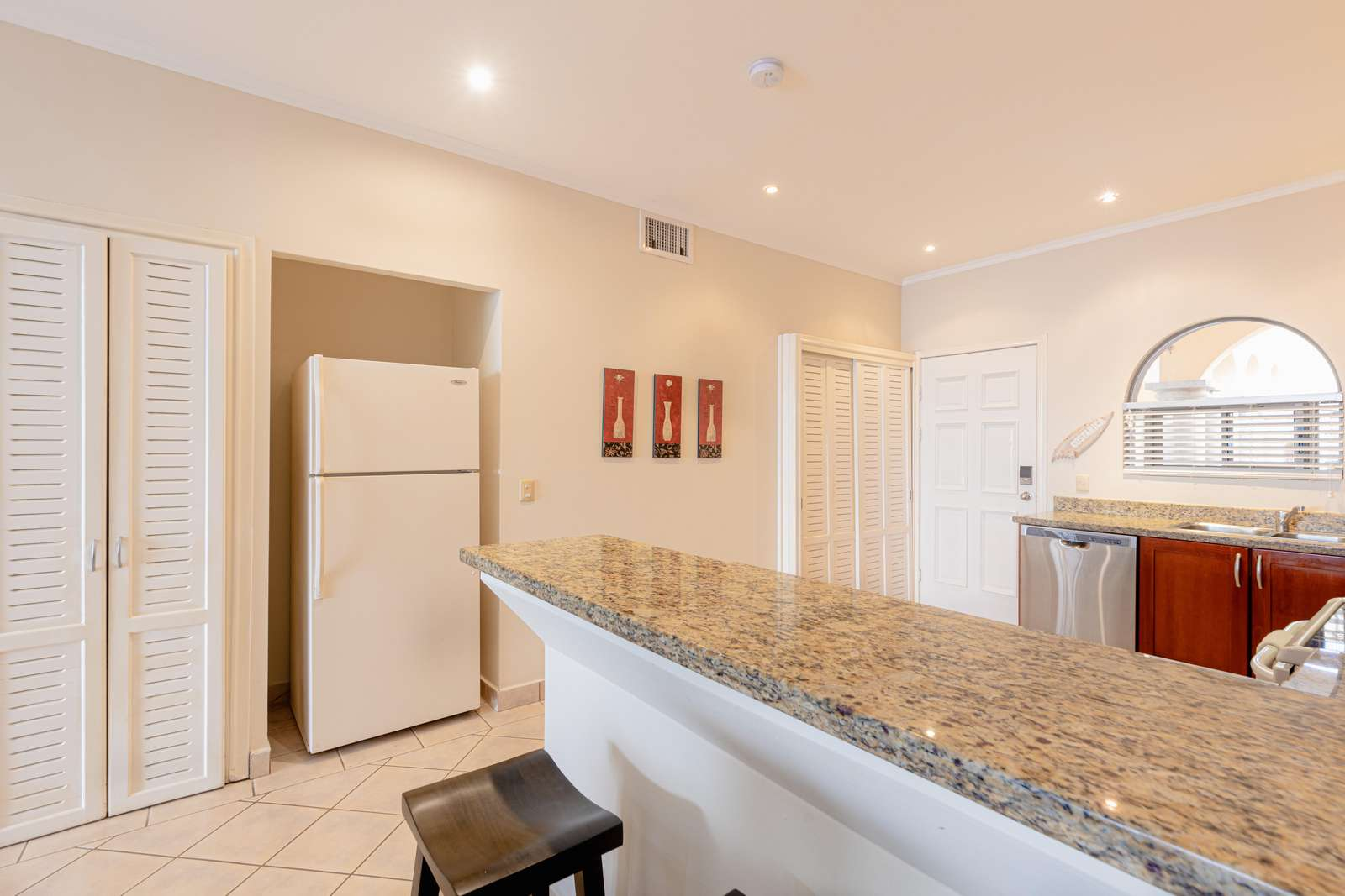 Another view of gourmet kitchen