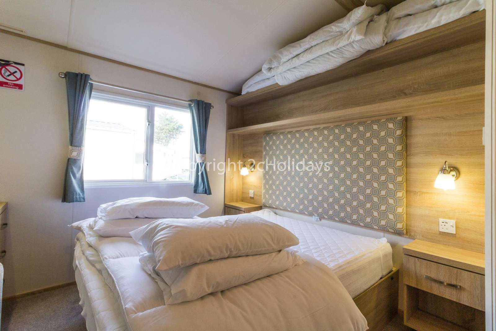 Spacious master bedroom with plenty of storage!