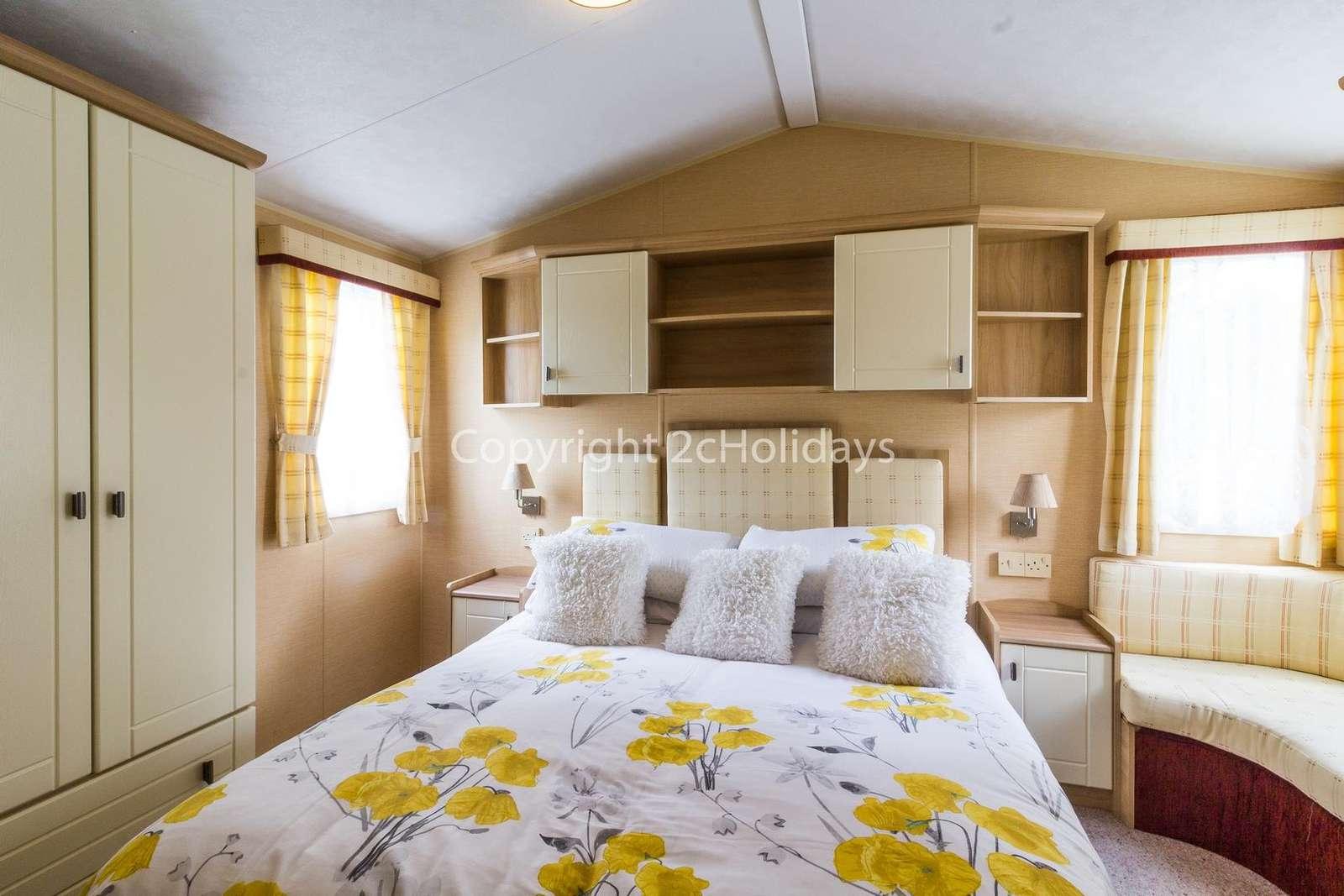 Stunning master bedroom!