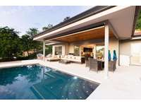 Beautiful pool and covered terrace area with BBQ thumb