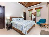 Master bedroom, king bed, private bathroom, access to pool and terrace area thumb