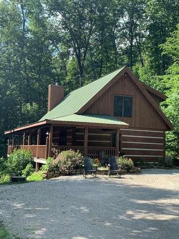 Deer Dance Log Cabin
