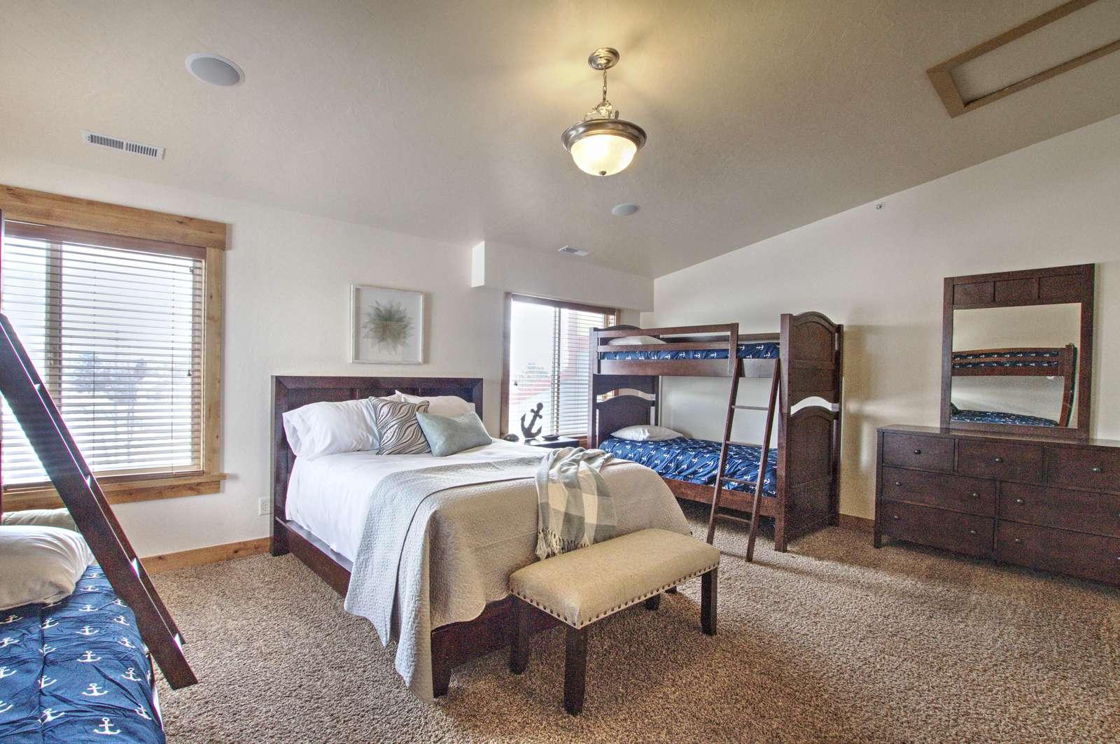 Large upstairs bedroom