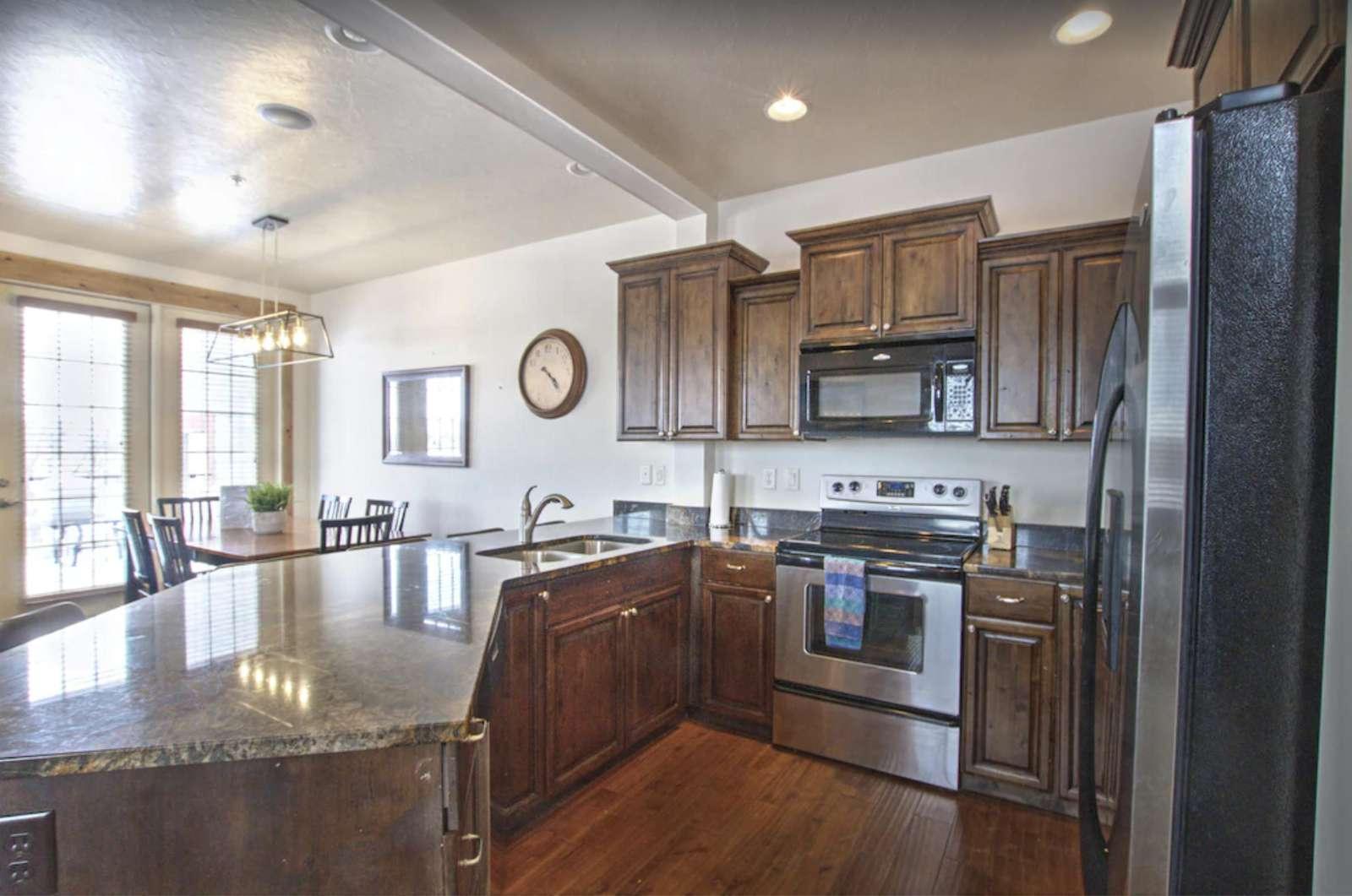 Kitchen in Wasatch - property