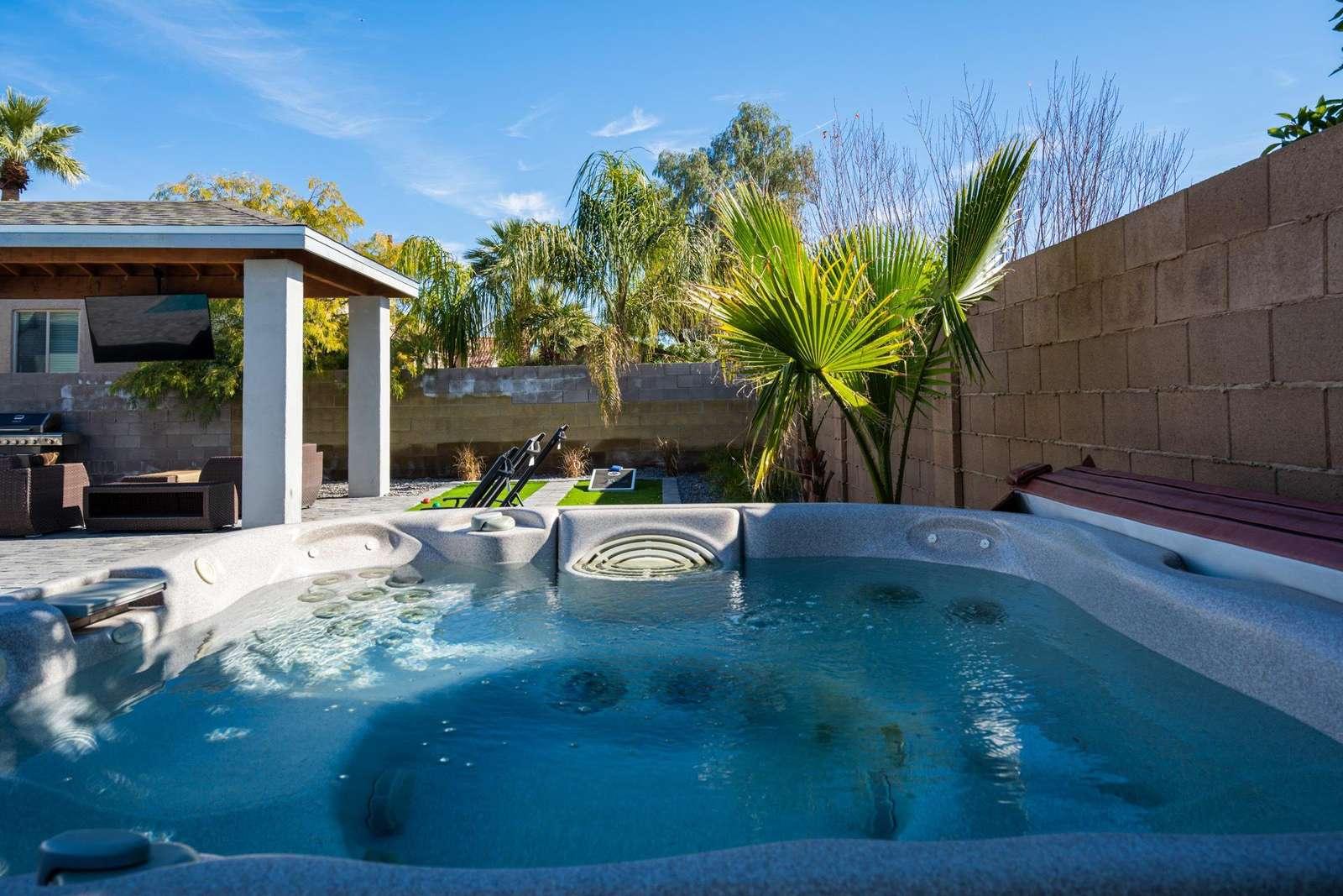 Full Size Hot Tub