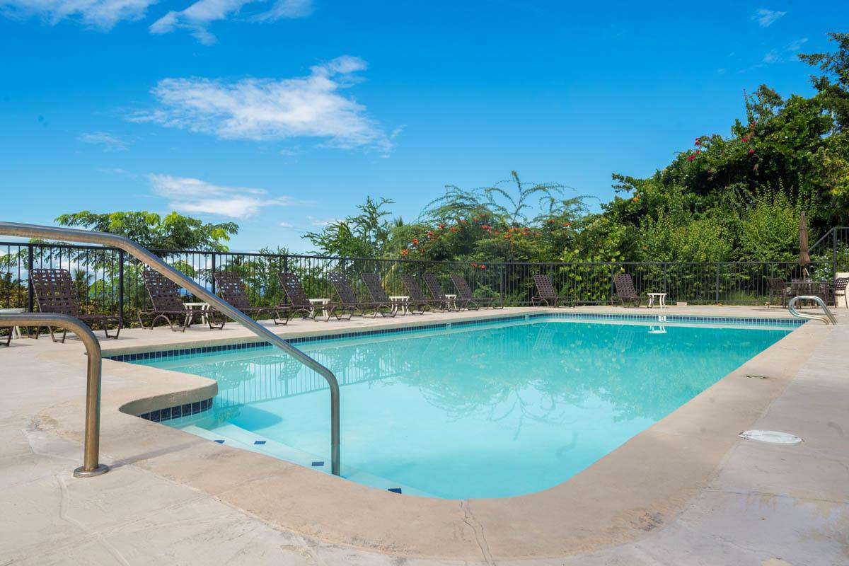 Nearby pool, one of 3 at Country Club Villas