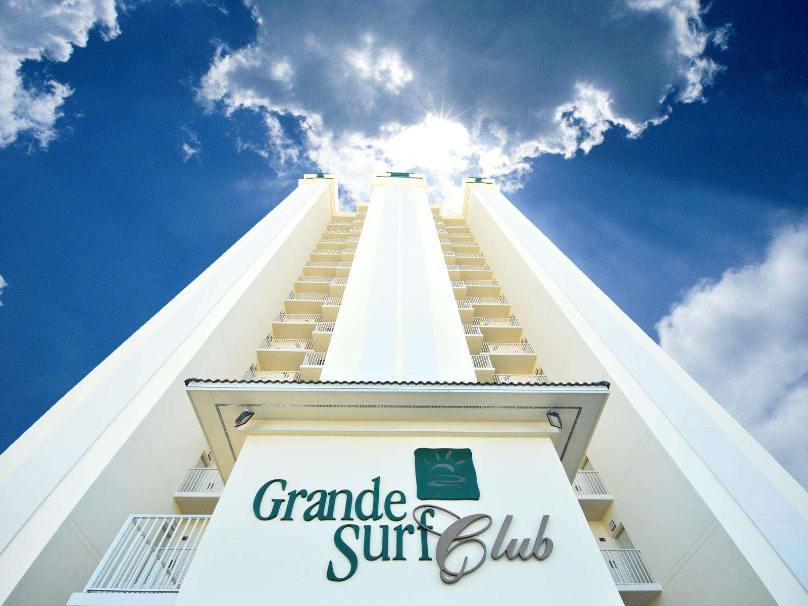 Grande Surf Club is a beautiful gated property on the beach!