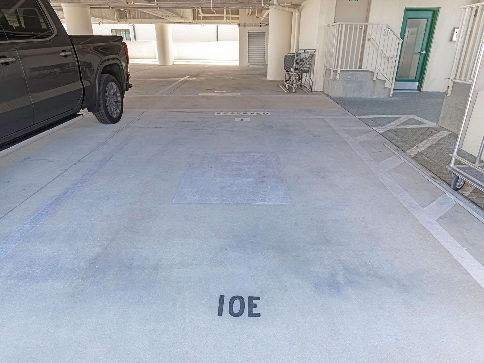 Covered assigned parking just for you!