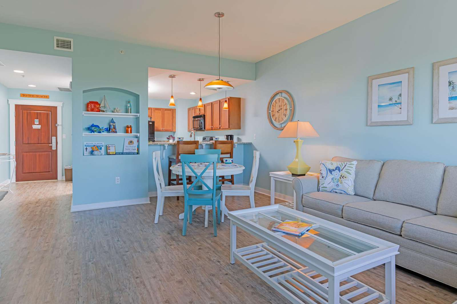 Great open living! Clean and comfortable!