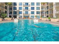 Take a few laps in the pool after a long day at the beach! thumb