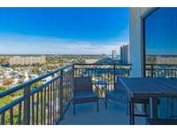Your own private balcony with beach and Pier Park views! thumb