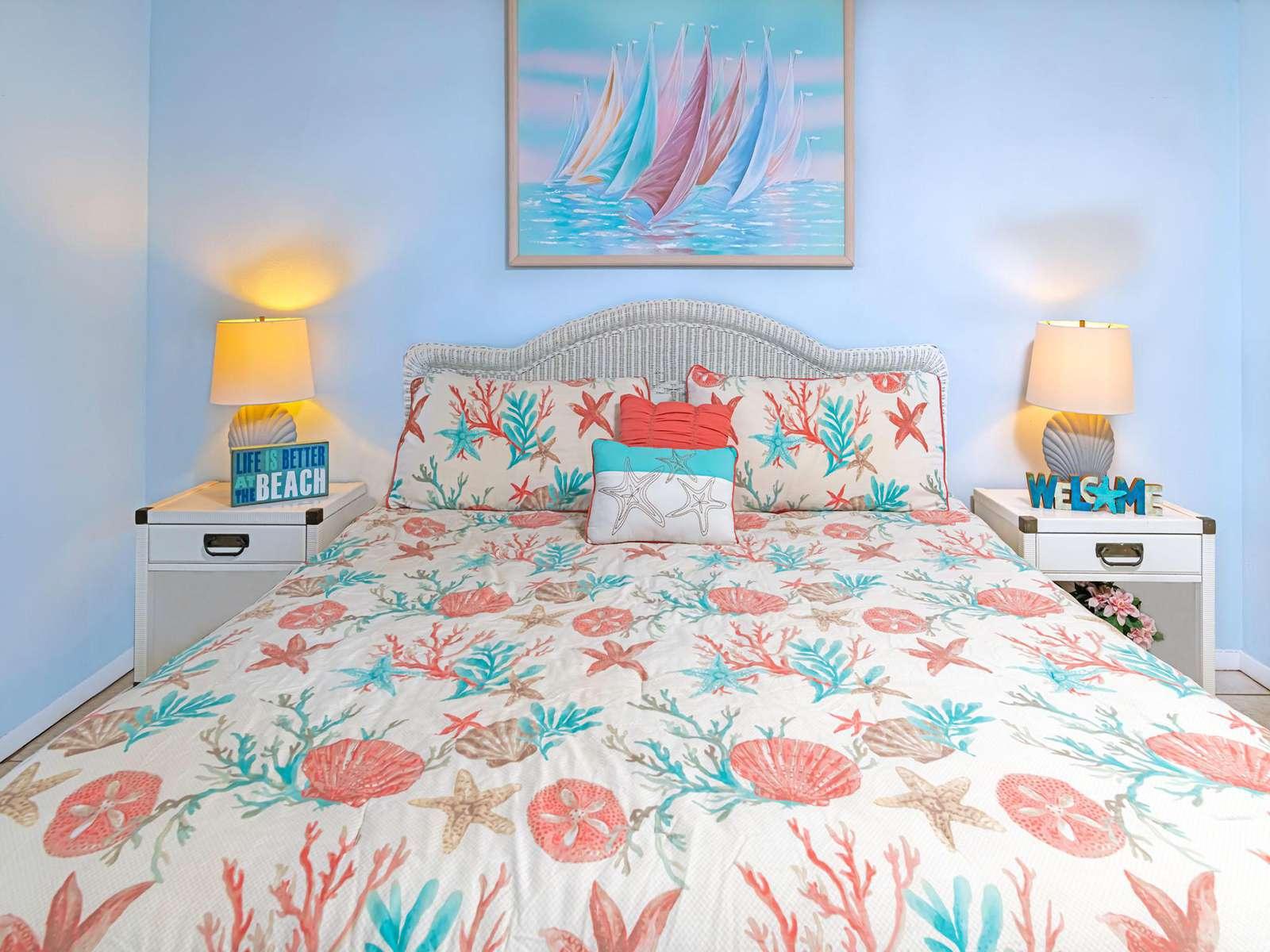 Basic linens provided for all bedding!