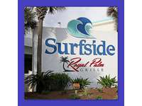 Surfside's restaurant- Royal Palm Grille has a huge outside deck for enjoying your meal while looking over the ocean thumb